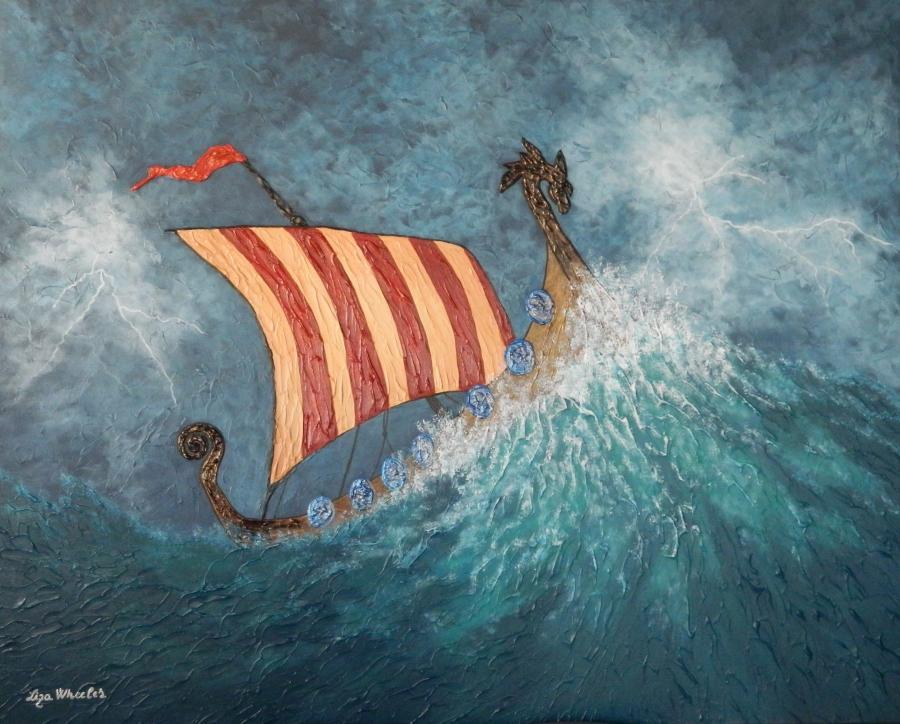 Picturi maritime navale Razbunarea Drago