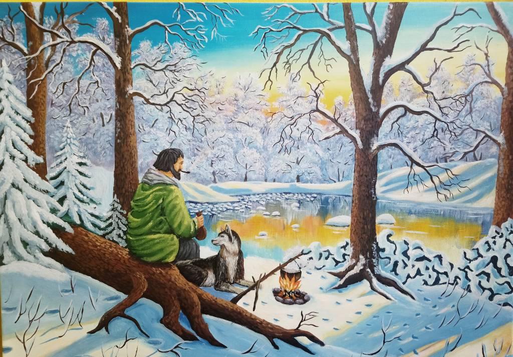 Poza Apus de iarna