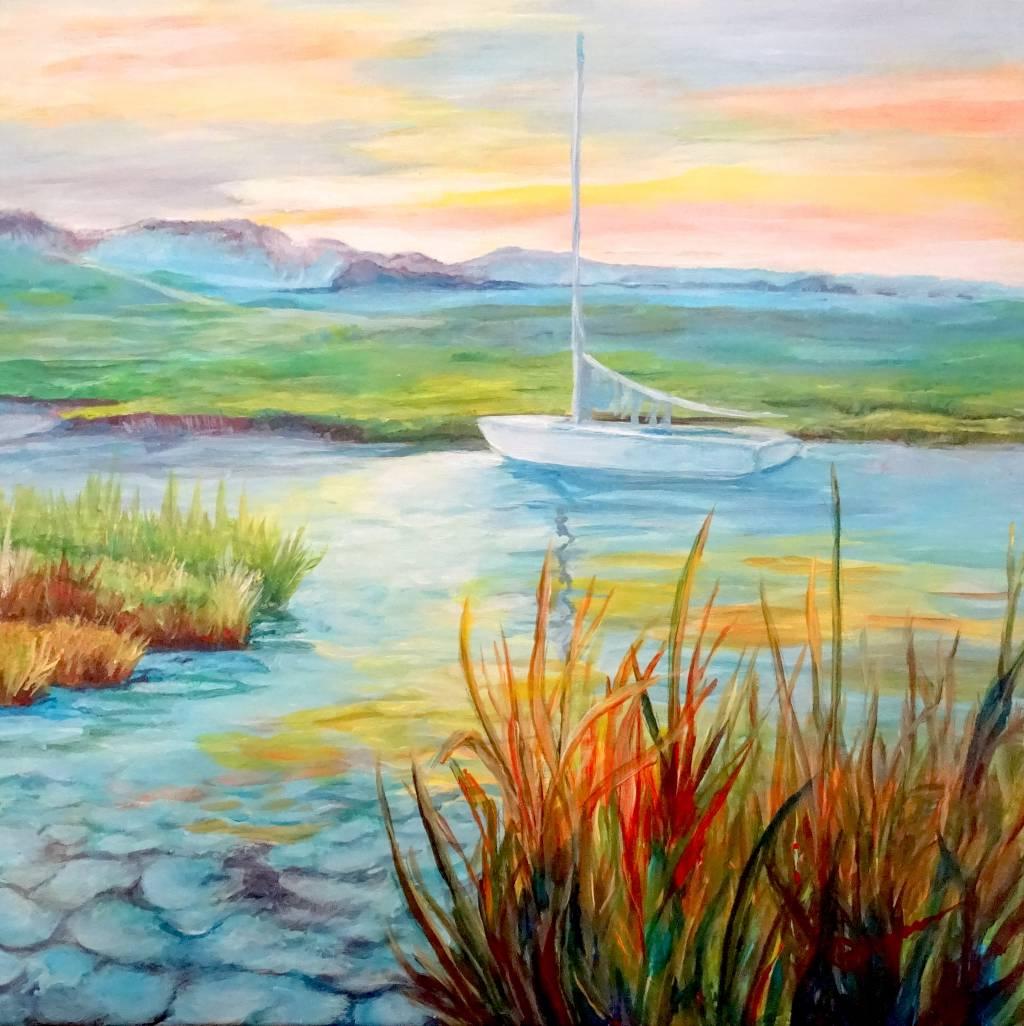 Poza Barca pe lac