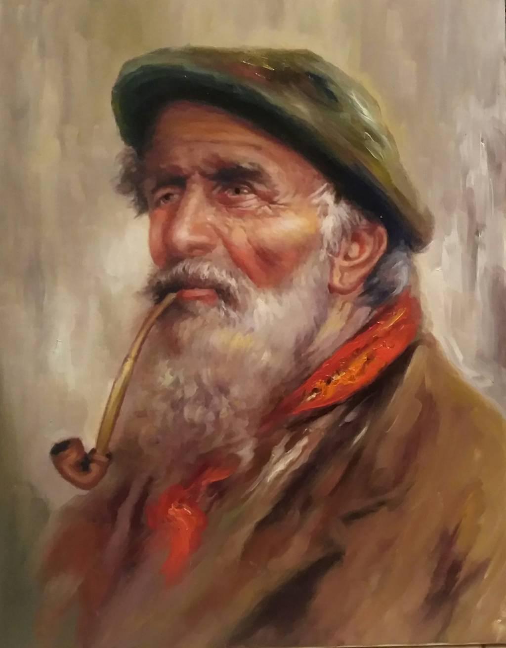 Poza Bătrânul cu pipa