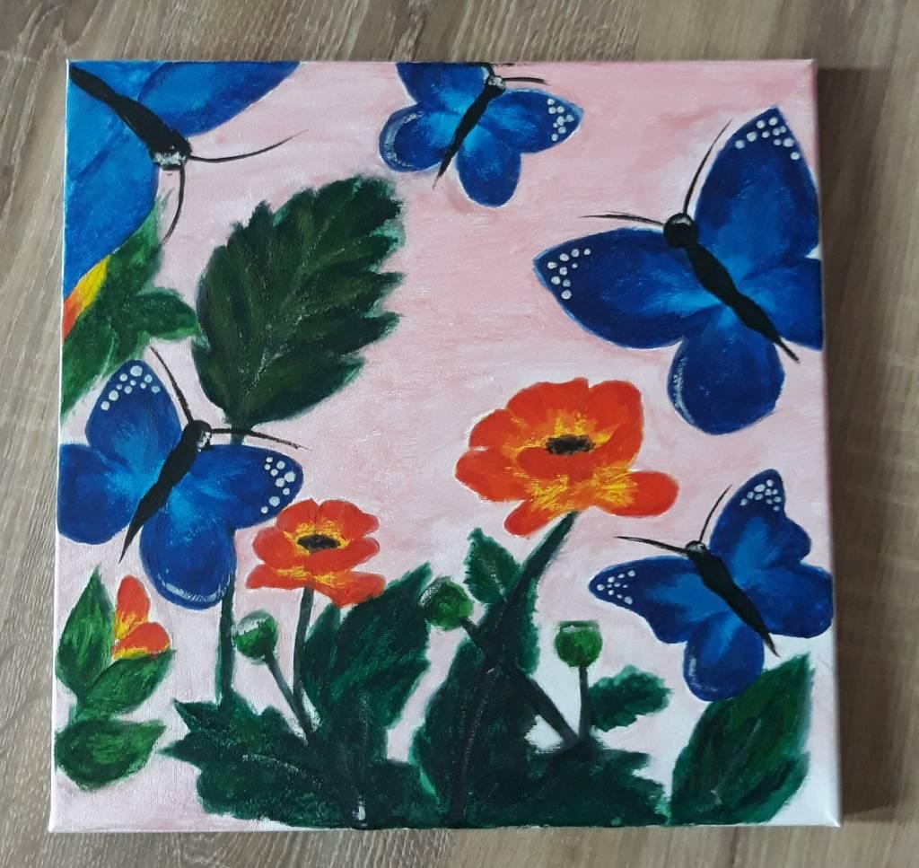 Poza Blue butterflies