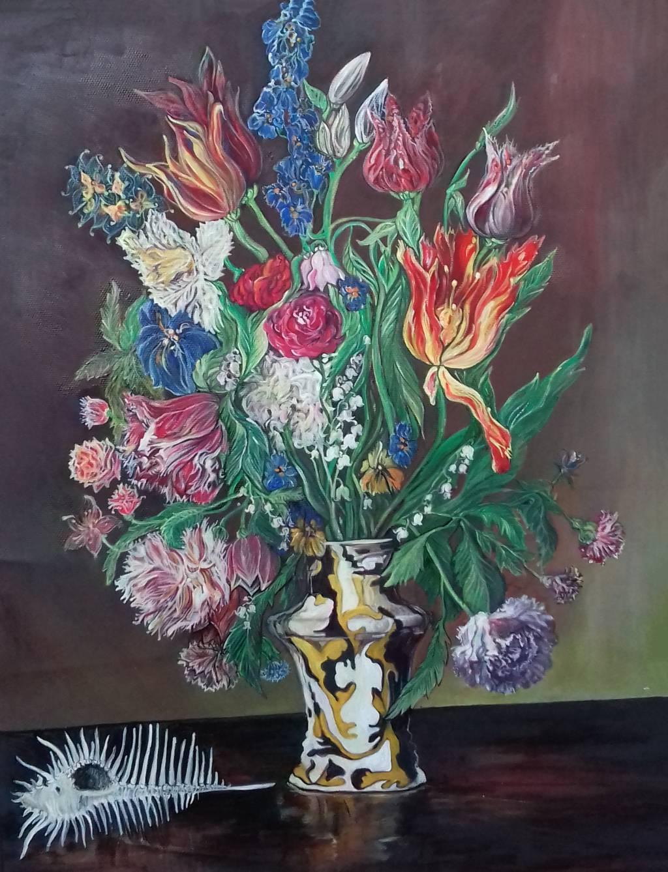 Poza Buchet cu flori de primavara