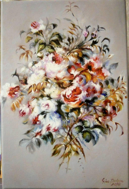 Poza buchet ( dupa P A Renoir )