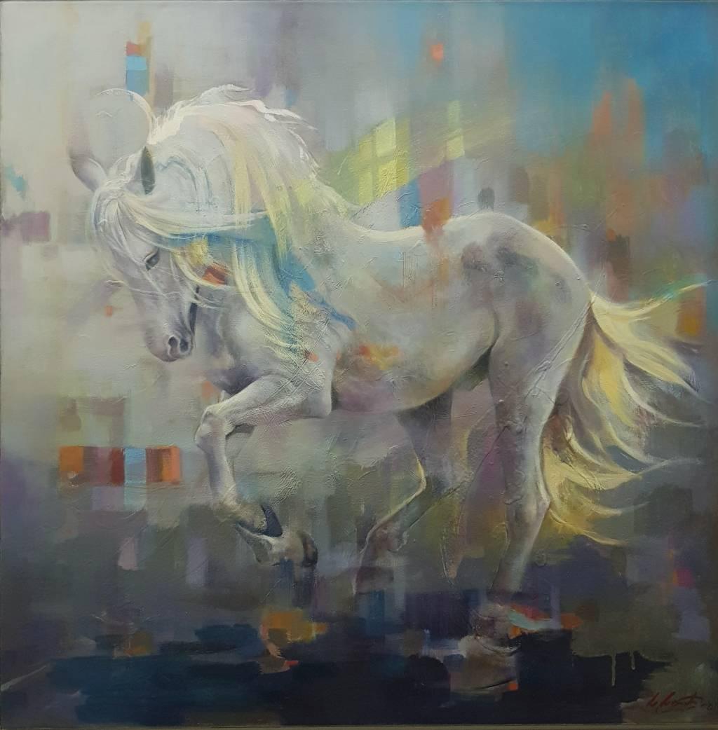 Poza calul liber
