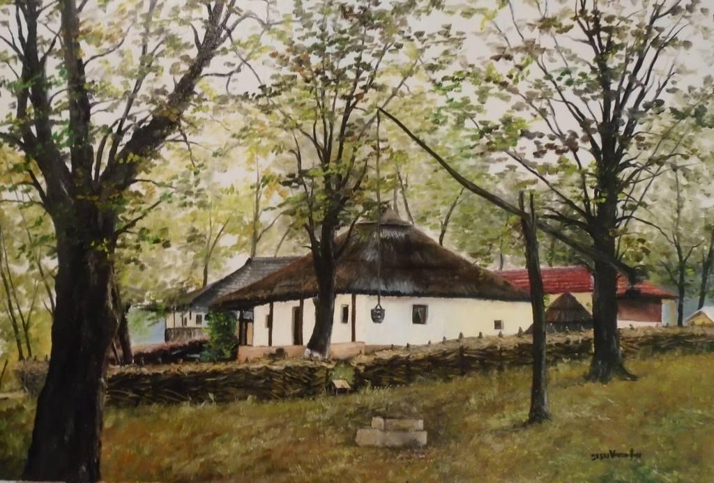 Poza Casuta ..Muzeul Satului ...