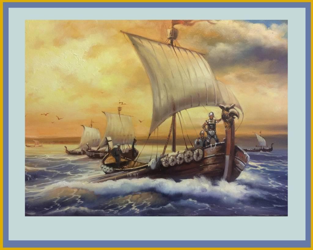 Poza corabii vikinge