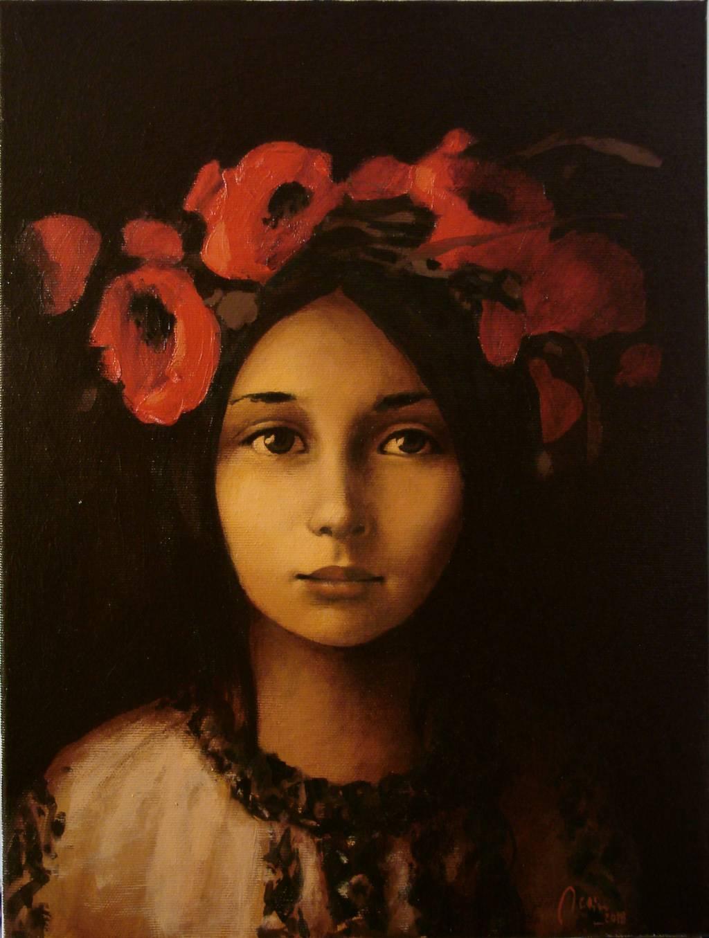 Poza Coronita din flori de mac