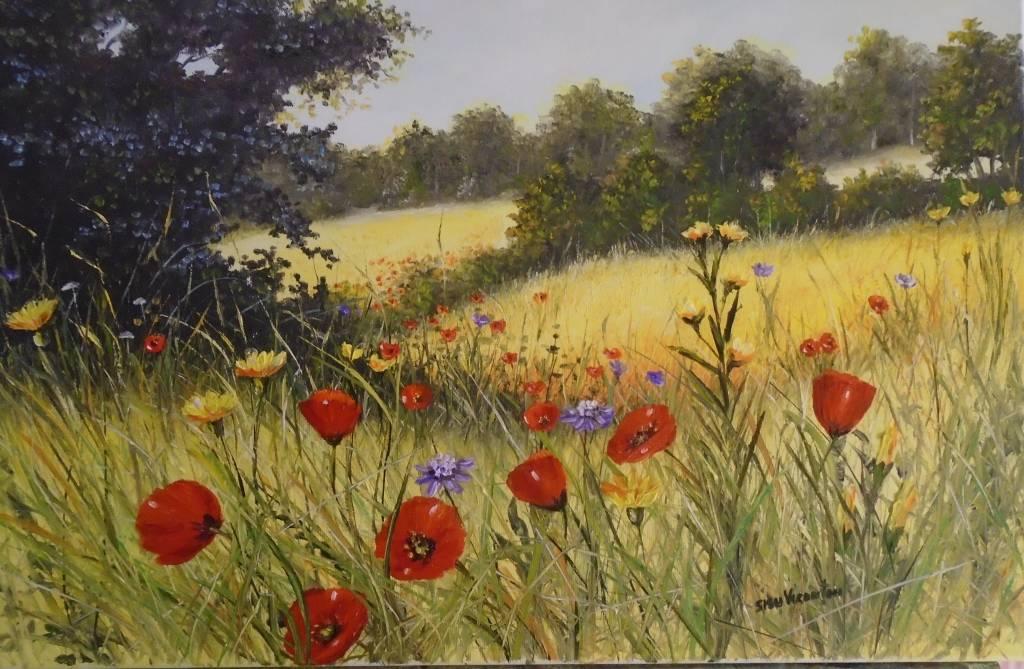 Poza Crang cu flori de camp ...