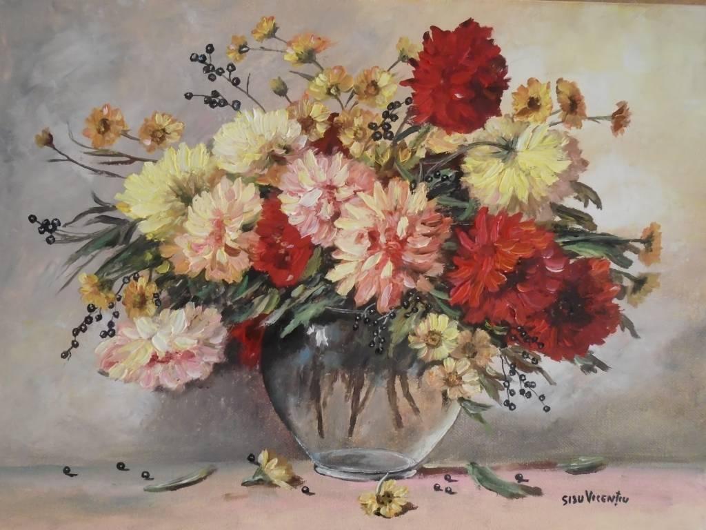 Poza Decor cu flori 5 ...
