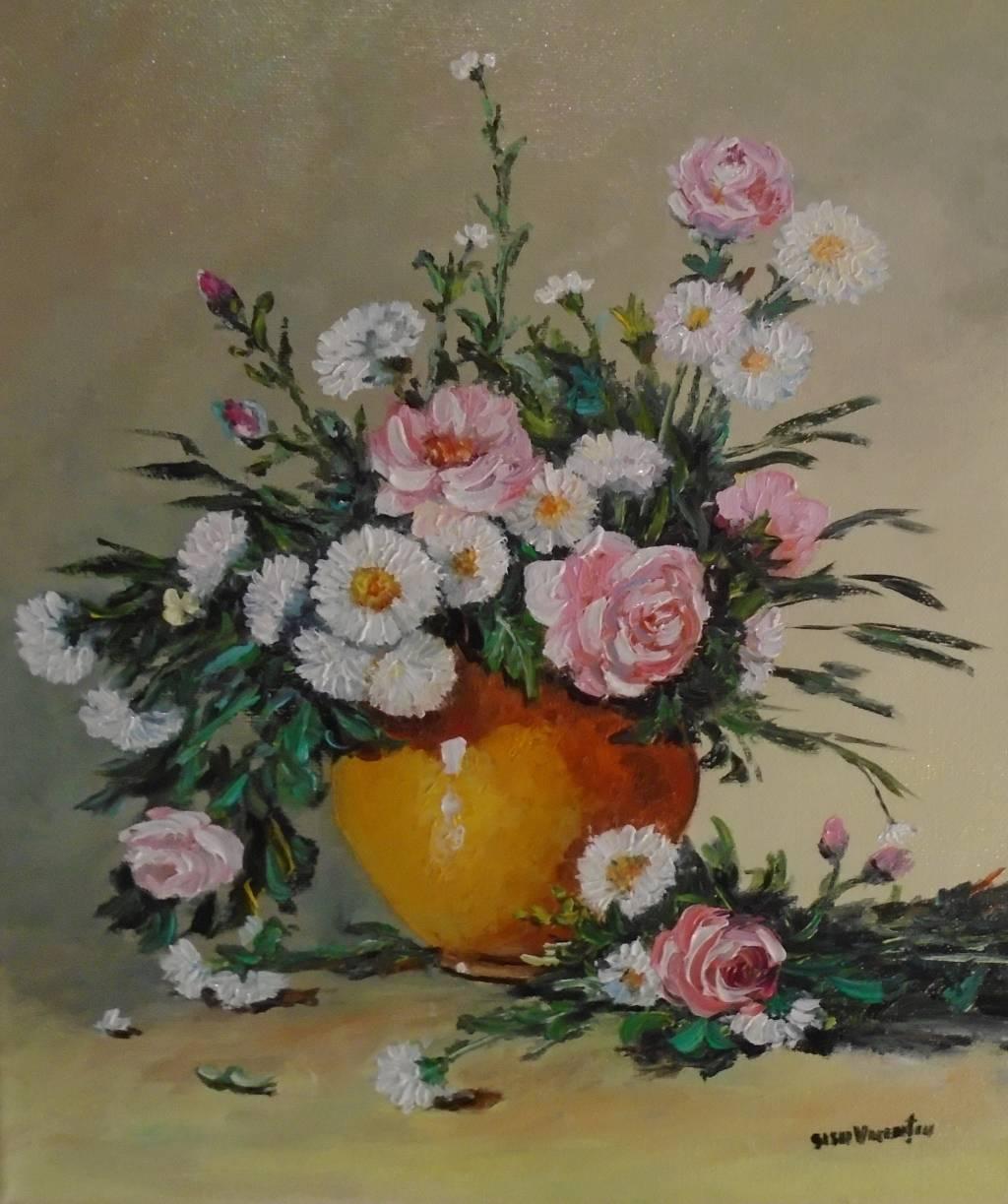 Poza Decor cu flori 7 ...