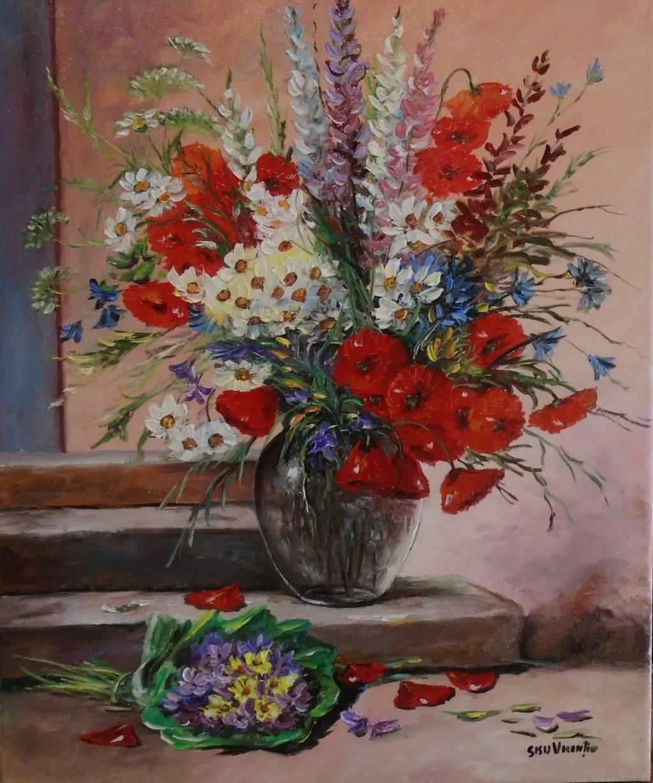 Poza Decor cu flori de camp 6...