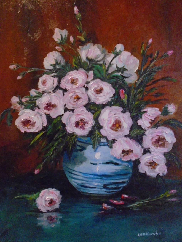 Poza Decor cu trandafiri