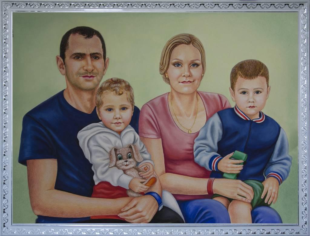 Poza Familia din 4 persoane