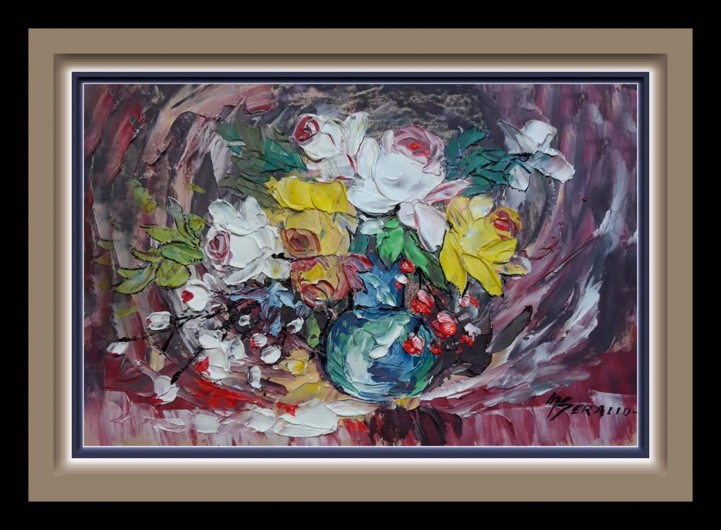 Poza flori in curent de primavara 99m