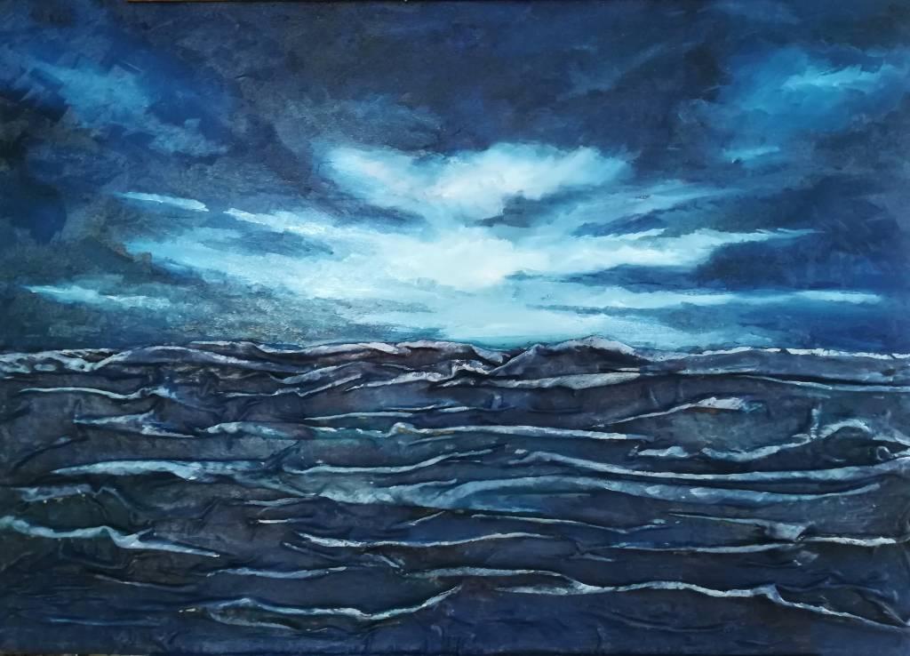 Poza Glacier sky