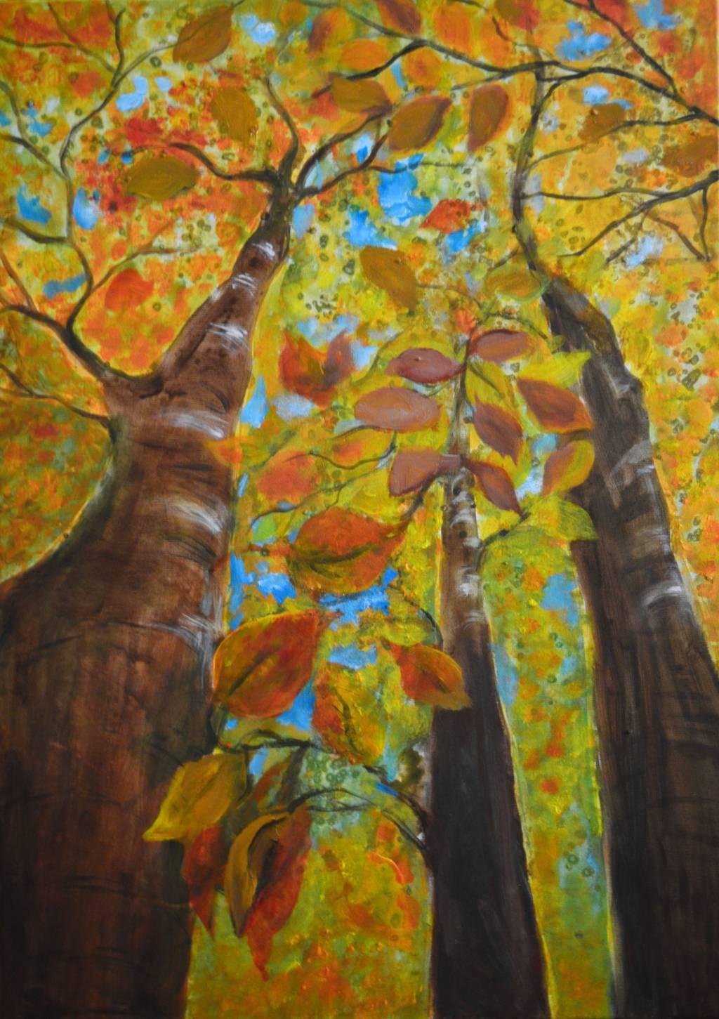 Poza Golden trees