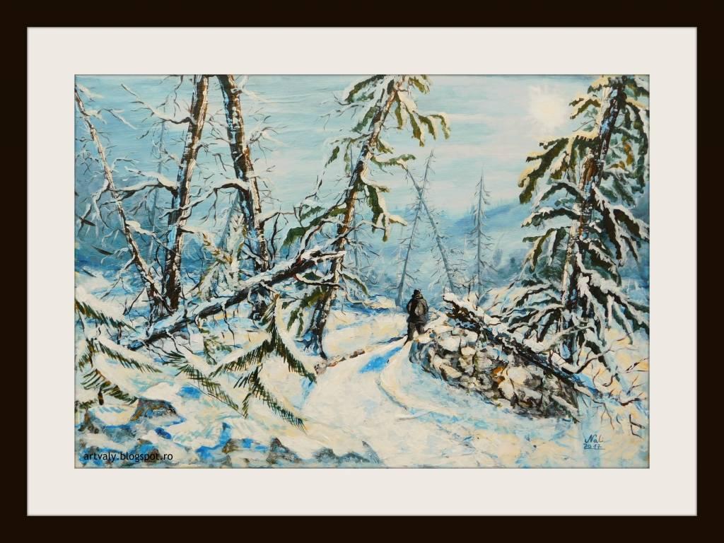 Poza Iarna în pădure