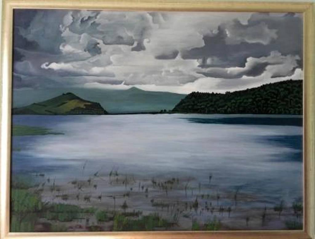 Poza Lacul Calinesti -Oas