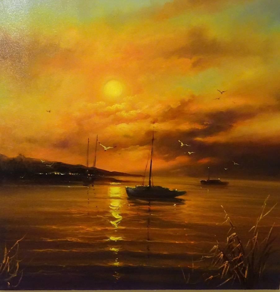 Poza lacul siutghiol - mamaia 2