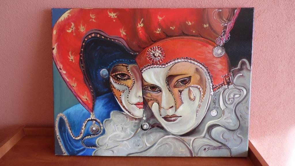 Poza masca venetiana ll11