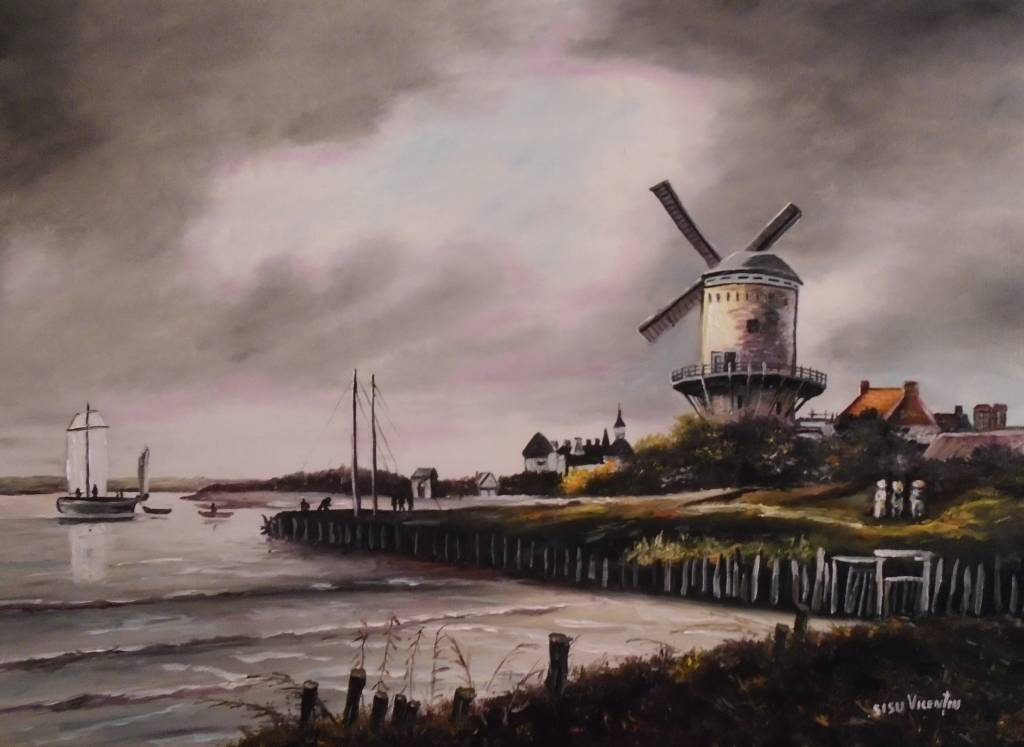 Poza Moara ..Dupa Jacob Van Ruisdael ...
