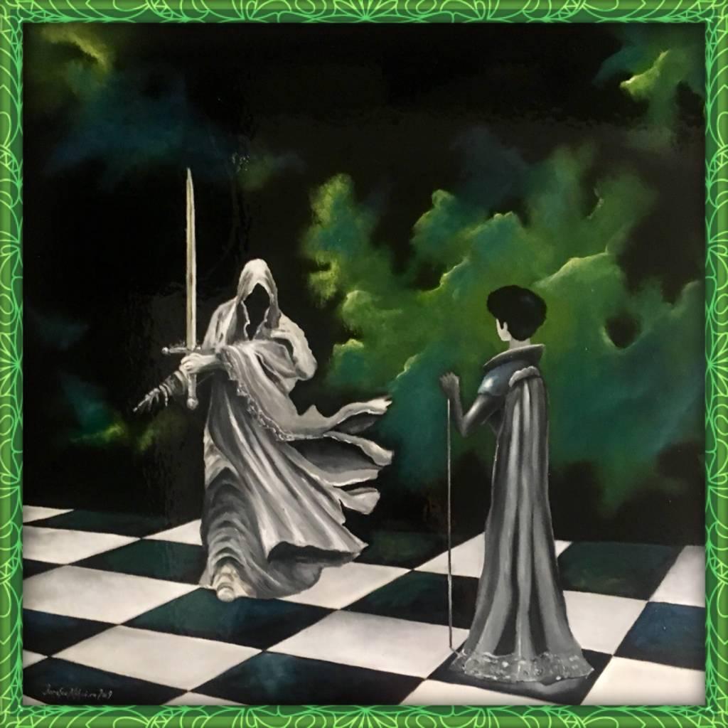 Poza Nebunul de alb ce captureaza regina