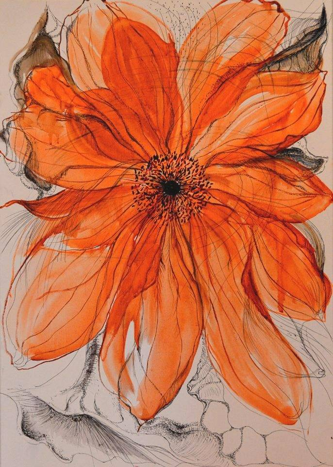 Poza Orange flower