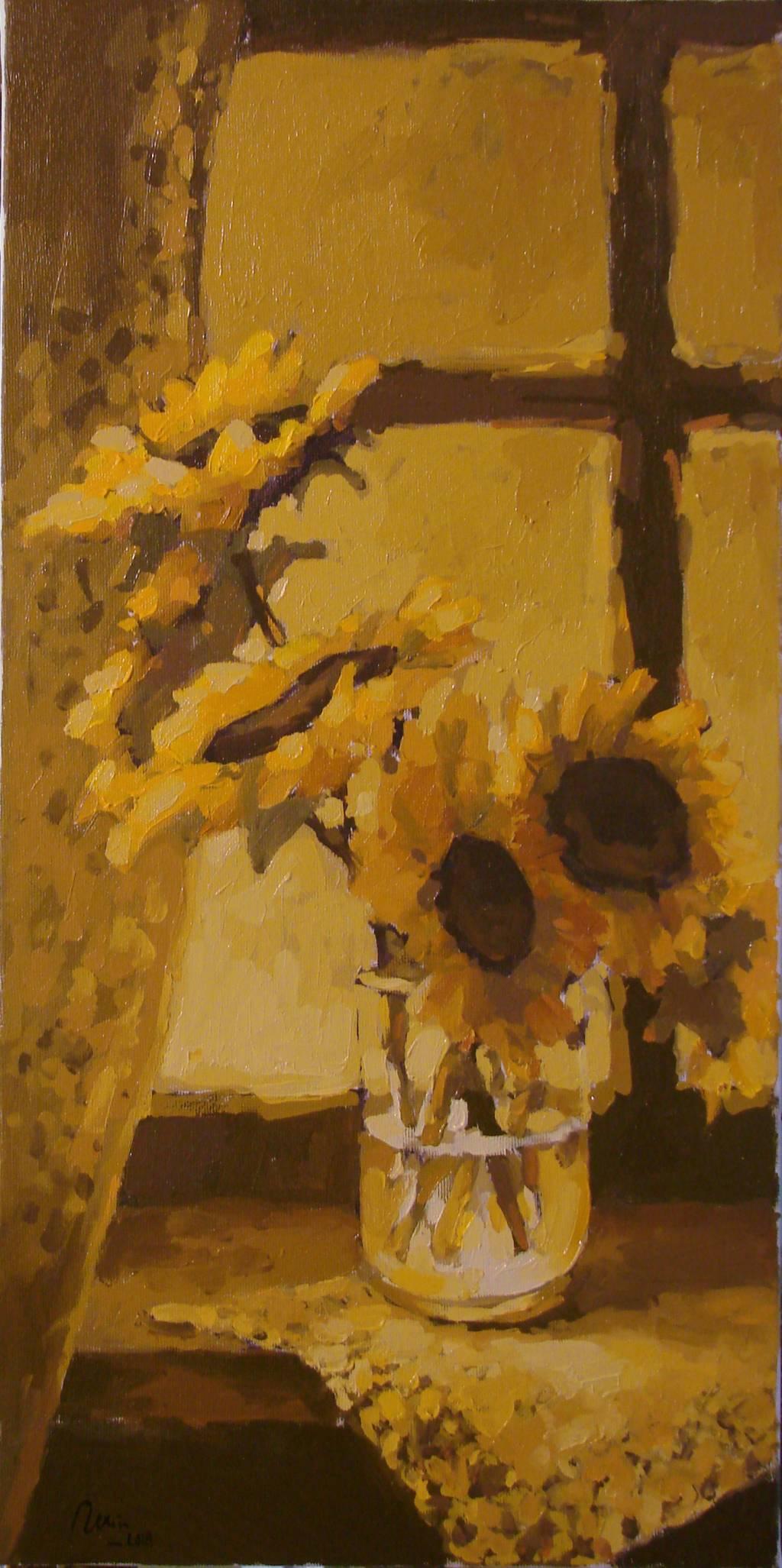 Poza Paharul cu floarea soarelui