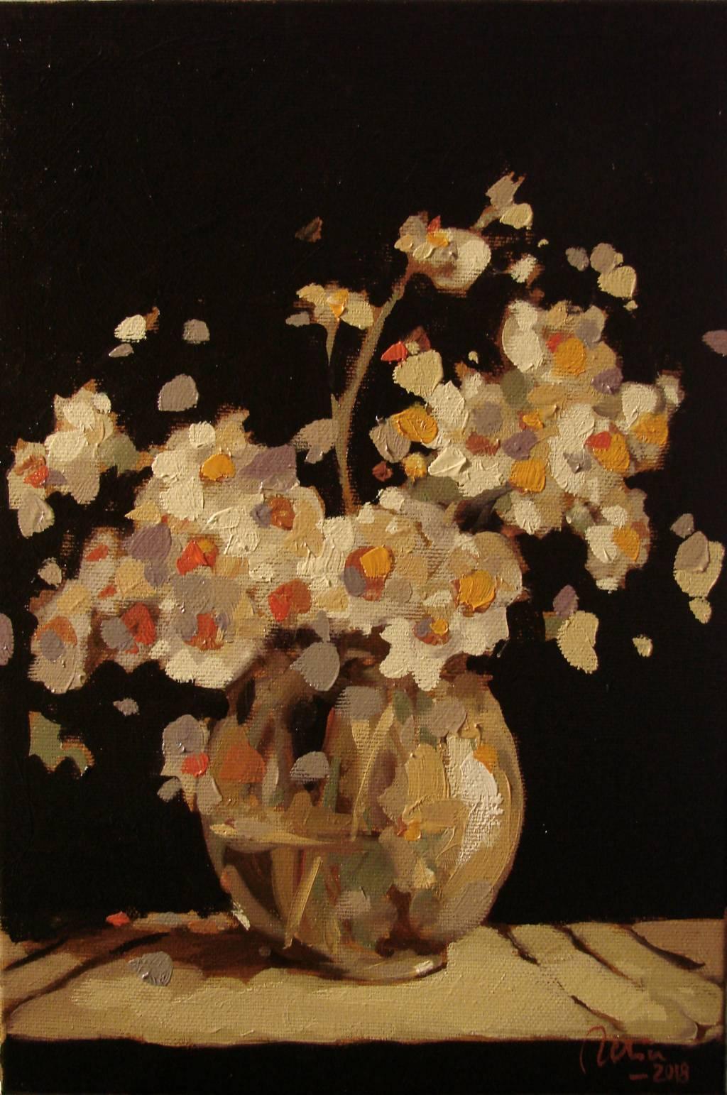 Poza Paharul cu flori albe de camp