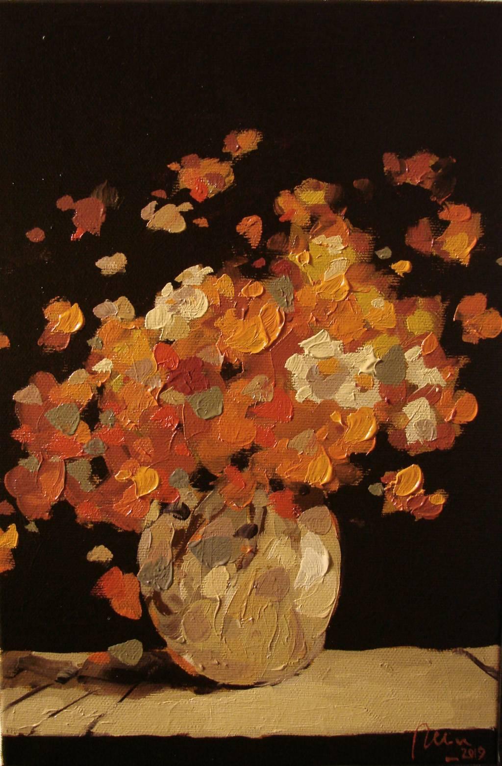 Poza Paharul cu flori portocalii de camp