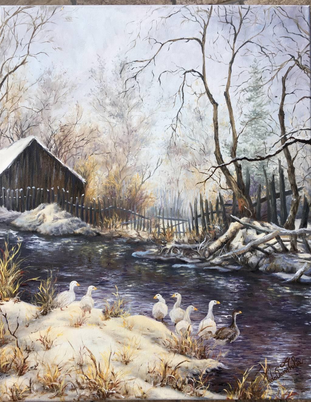 Poza Plimbare in iarna