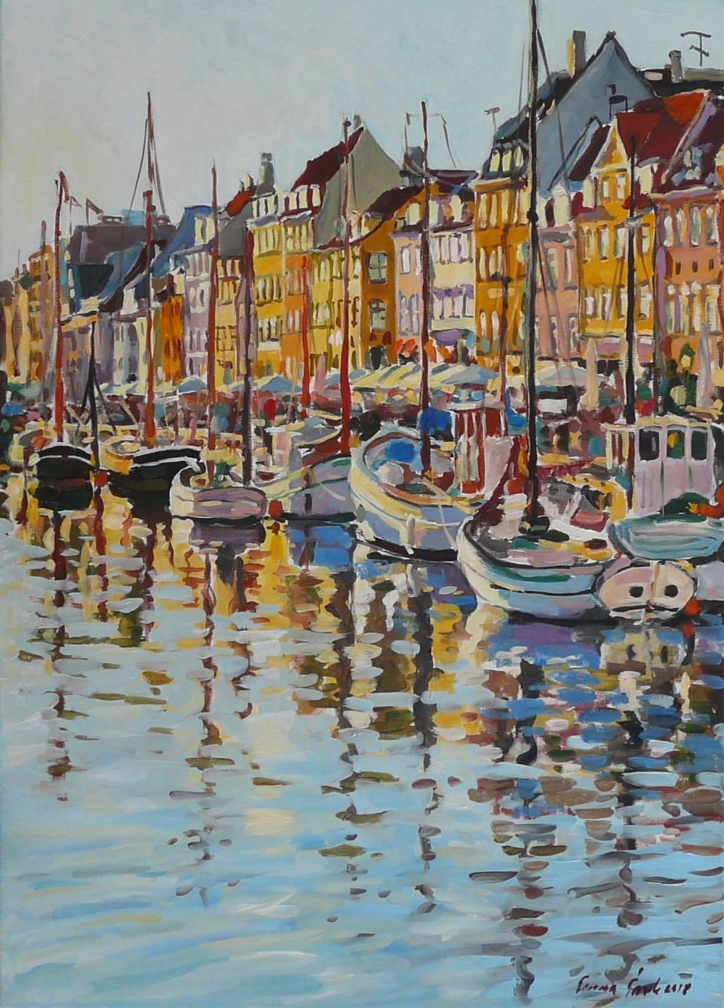 Poza Port însorit (Nyhavn)