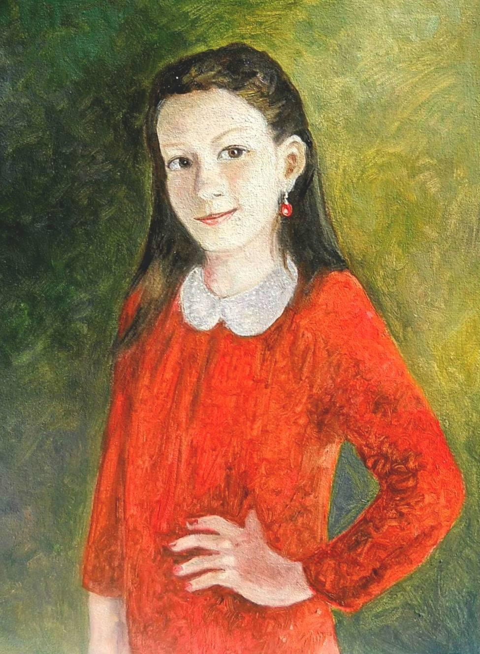 Poza portret de domnisoara