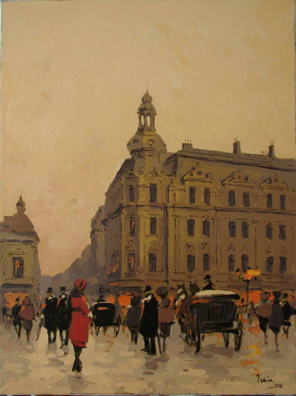 Poza Prin vechiul Bucuresti ,Hotel Conti