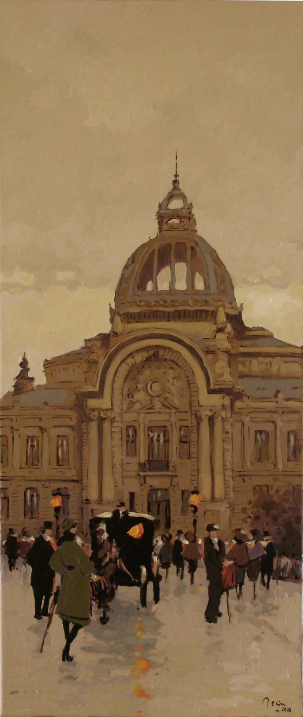 Poza Prin vechiul Bucuresti ,Palatul CEC