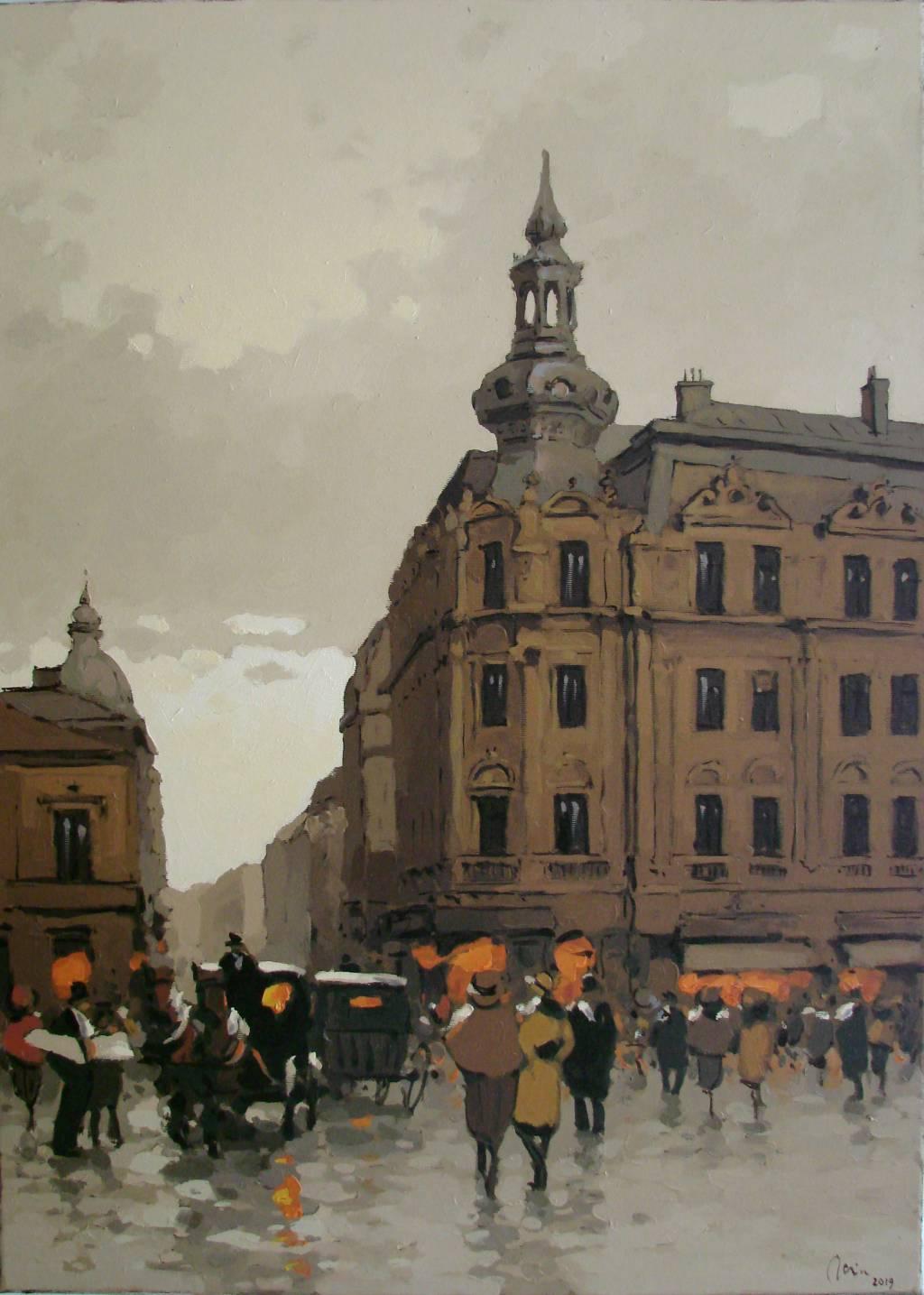 Poza Prin vechiul Bucuresti, strada Rega