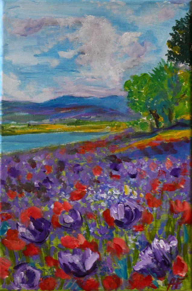 Poza Purple field