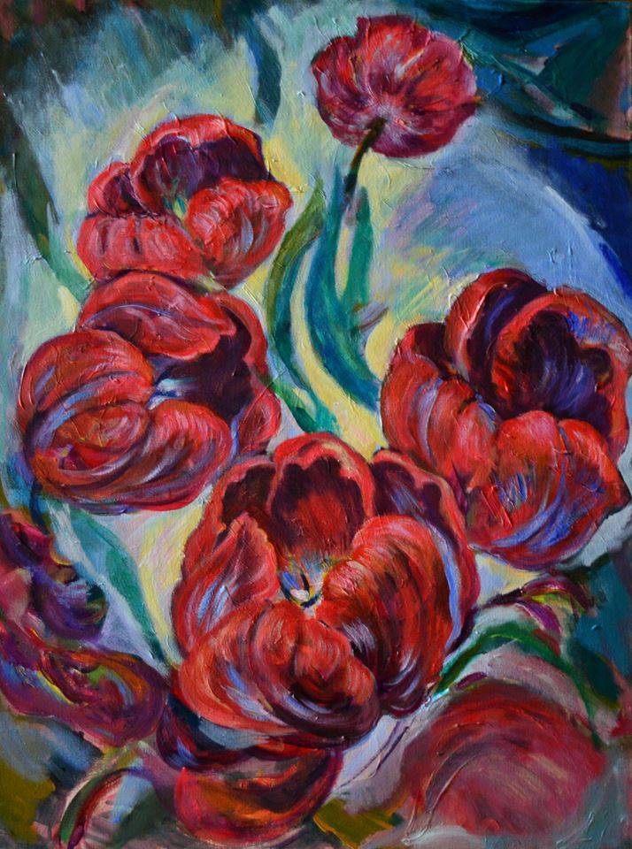 Poza Red tulips