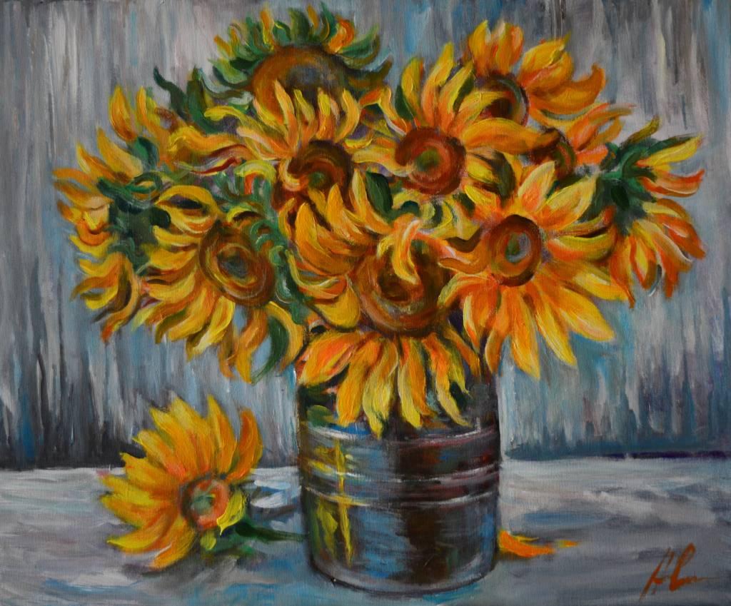 Poza Sunflower bouquet 2