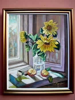 Poza Tablou Floarea Soarelui02