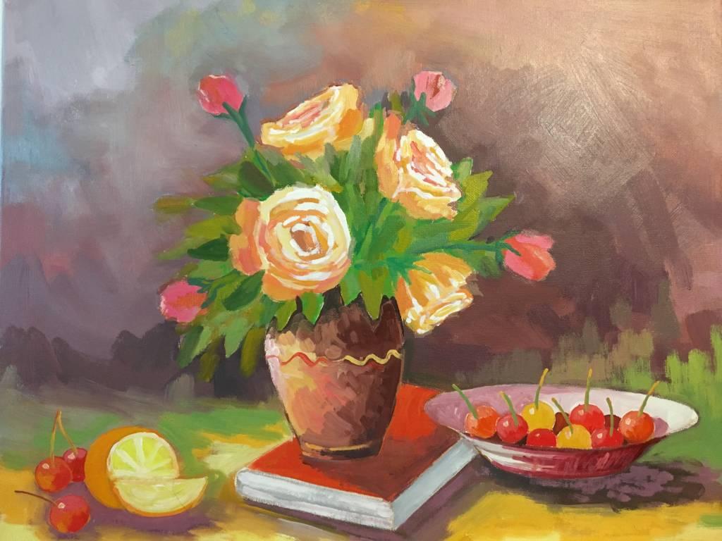 Poza Trandafir cu cirese