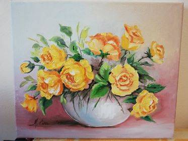 Poza Trandafiri galbeni