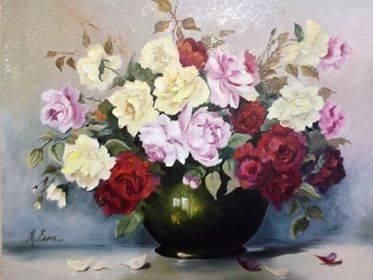 Poza Trandafiri in trei culori