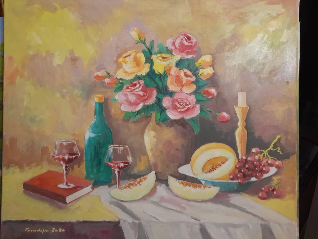 Poza Trandafiri si pepene