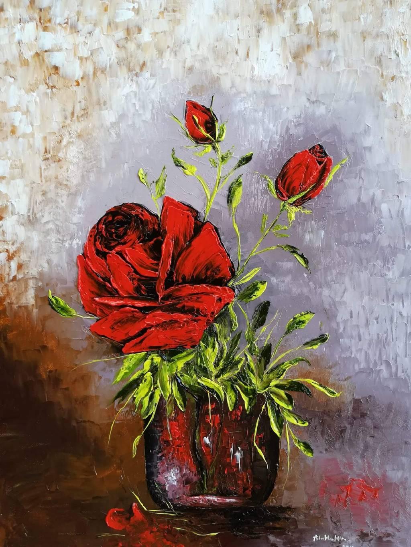 Poza Trandafirul rosu