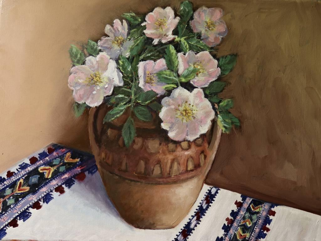 Poza Ulcica cu flori de maces