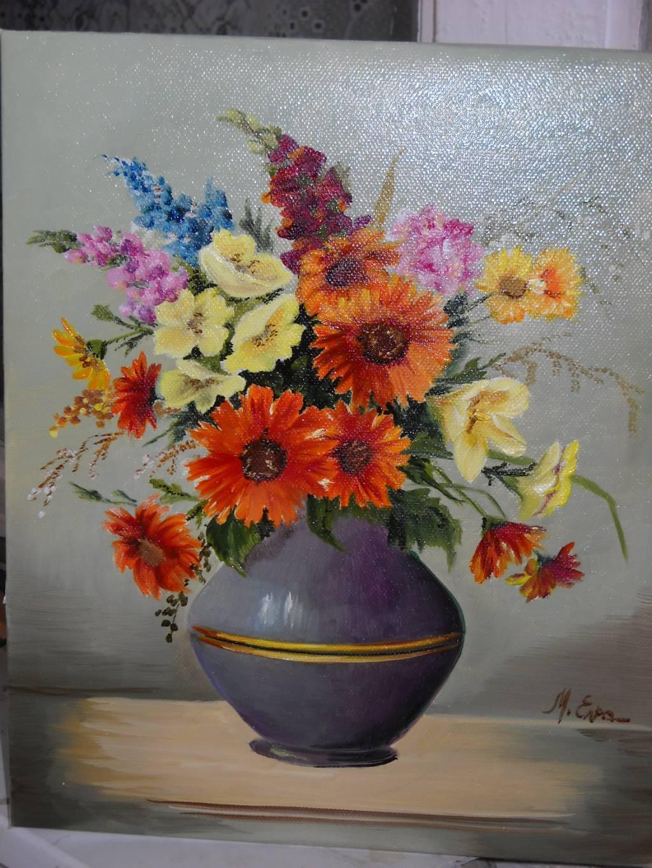 Poza Un buchet cu  flori