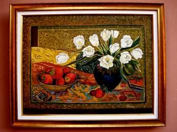 Poza Vaza cu flori albe