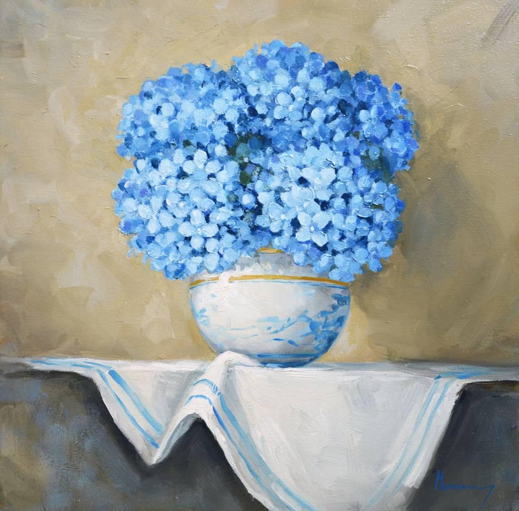 Poza Vaza cu hortensii