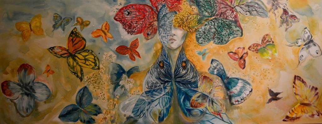 Poza Wonderland butterfly